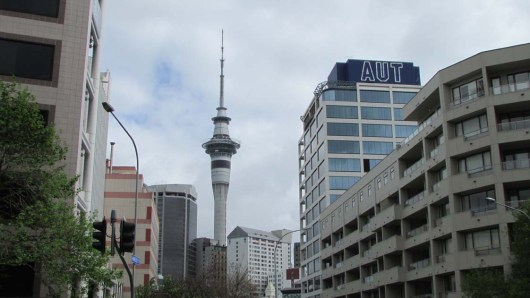 Sky Tower and University of Auckland