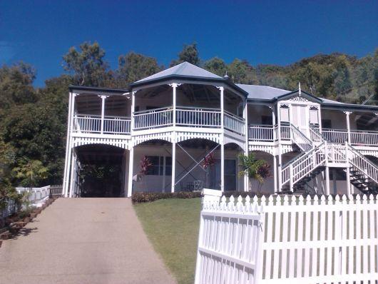 Beautiful new Queenslander style home