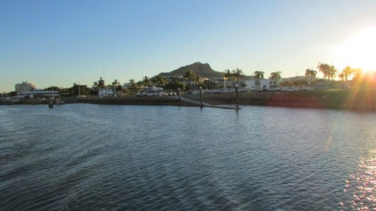 Townsville ferry harbor