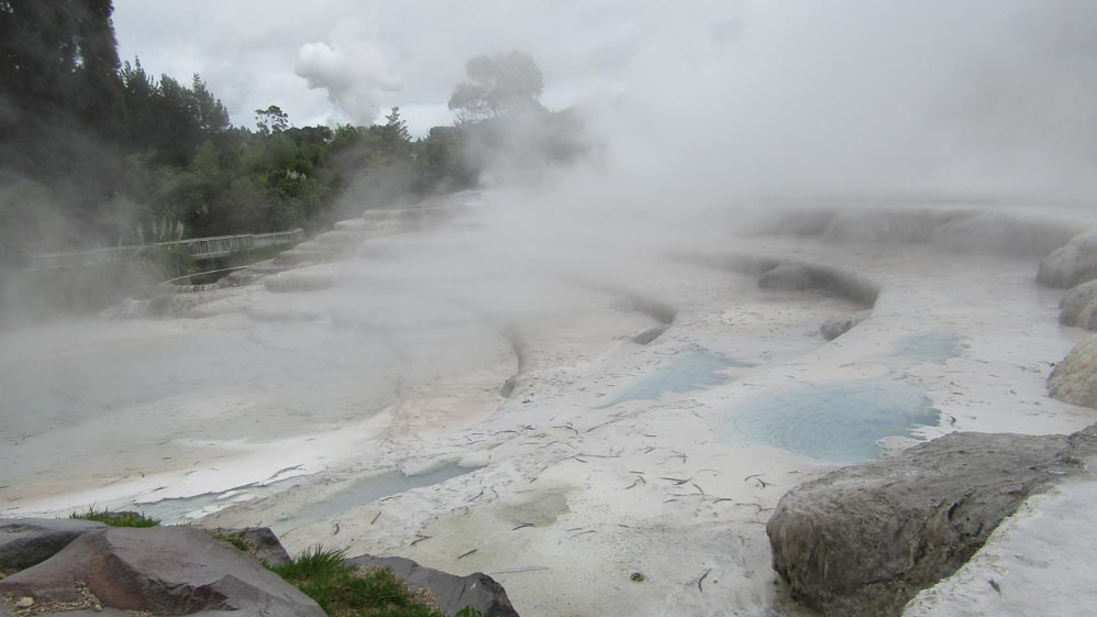 taupo thermal terraces
