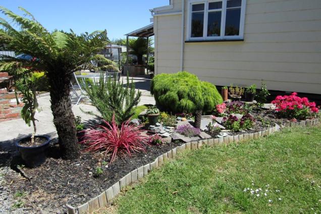 My garden where I find hedgehog digging spots