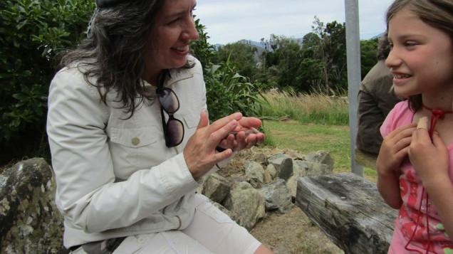 Maud island gecko