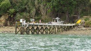 Maud Island dock