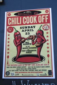 bare knuckle bbq chili cook off