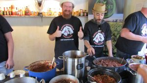 bare knuckle bbq chilli contest