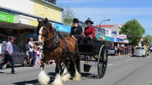 Waipukurau 150 anniversary parade