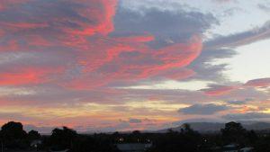 Waipukurau sunset Hawke's Bay