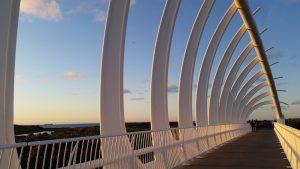 New Plymouth Te Rewa Rewa white bridge