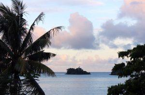 Taveuni Fiji heart cloud