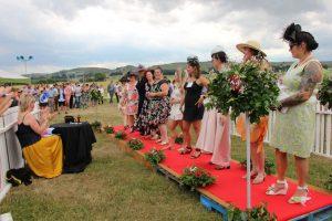 Waipukurau Christmas Races ladie's fashion show2019