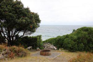 whaling pot on Kapiti Island Reserve
