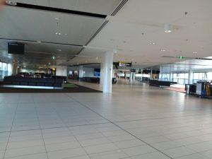 Brisbane-airport-coronavirus-deserted