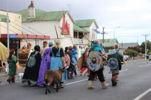 Norsewood Viking Festival march
