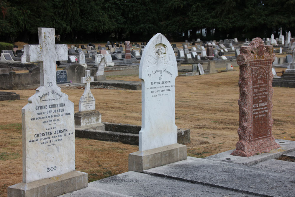 Norsewood graveyard