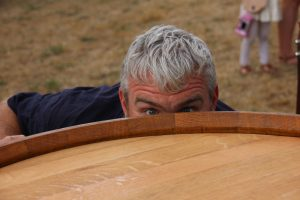 Paul Wine barrel furniture Napier STIM Craftsmanship