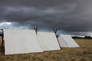 Norsewood Viking Festival tents 2020