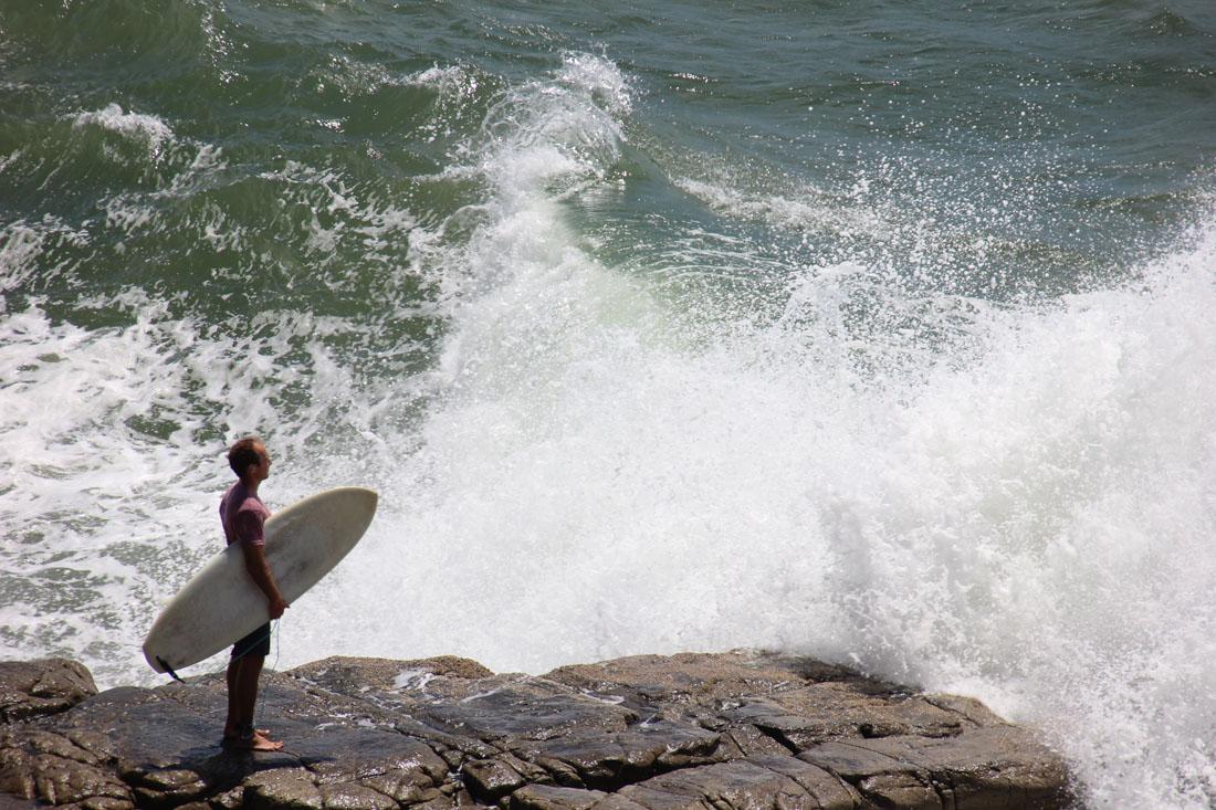 Noosa National Park surfer