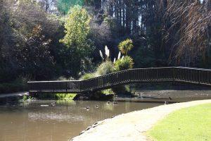 Dannevirke Domain bridge